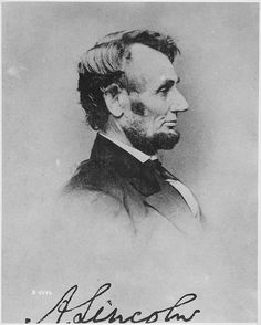 Abraham Lincoln, 16th American President; 1861 - 1865 (elected 2 terms)  Republican.  2/12/1809 - 4/15/1865 (56)