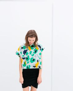 Image 1 of PRINTED T-SHIRT from Zara