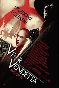 V for Vendetta With Natalie Portman, Hugo Weaving, John Hurt, Stephen Fry and Rupert Graves. Written by Andy Wachowski, Lana Wachowski and David Lloyd. Directed by James McTeigue. Hugo Weaving, Film V, Bon Film, Film Serie, Drama Film, Streaming Movies, Hd Movies, Movies To Watch, Movies Online