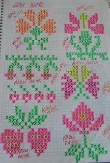 This Pin was discovered by Nad Knitting Charts, Knitting Socks, Knitting Patterns Free, Sewing Patterns, Crochet Patterns, Simple Cross Stitch, Cross Stitch Rose, Cross Stitch Flowers, Cross Stitch Patterns