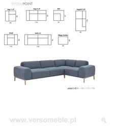Point etap sofa -Verso Sofa, Couch, Furniture, Home Decor, Stool, Settee, Settee, Decoration Home, Room Decor