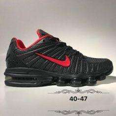 9e3a6785dc92 Ventilation Nike Air Max Shox 2019 KPU Black Red Shox Nz Men s Athletic  Running Shoes