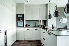 stylowy projekt białej kuchni