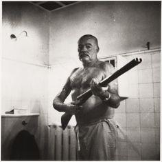 collectivehistory:  Ernest Hemingway at the Finca Vigia, Cuba, ca.1950-60 (NARA)