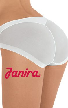 Janira's thong and brief combination garment... invisible and cling free!