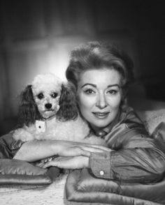 Greer Garson - she loved her little poodles and Siamese cats.