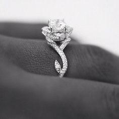 Rose Ring #engagement #engagementring #ring #wedding