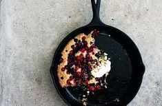 cranberry blueberry breakfast cobbler