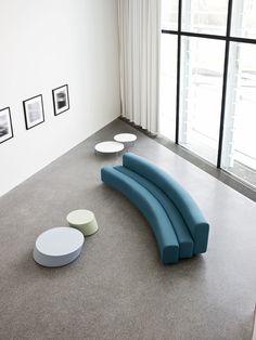 OSAKA Modular sofa by La Cividina design Pierre Paulin
