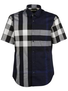 BURBERRY Burberry Plaid Print Shirt. #burberry #cloth #shirts