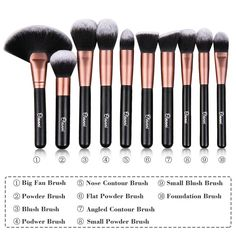 best contouring brushes http://www.beautyandlechic.com/2016/01/the ...