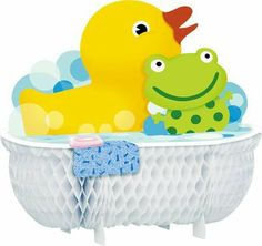 Splish Splash Centerpiece by HALLMARK MARKETING CORPORATION, http://www.amazon.com/dp/B0018TUCUK/ref=cm_sw_r_pi_dp_Tjterb0Y47M38