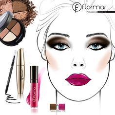 Inicia la semana luciendo hermosa con esta idea de maquillaje #Flormar   iFeliz Lunes! #makeup #maquillaje Dewy Makeup, Flawless Makeup, Makeup Tips, Mermaid Makeup, Smoky Eye, Belleza Natural, Everyday Makeup, Eye Make Up, Best Makeup Products
