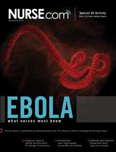 Ebola: What Nurses Must Know---- Free CEC's