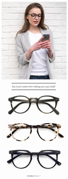 Did you know that we spend around 8 hours on average in front of our devices every day? All of that screen time can start to add up! Come check out our Digital Screen Protection Glasses. They're designed to help reduce the potentially harmful effects of d Look At You, Looks Cool, Swagg, Capsule Wardrobe, Just In Case, Eyewear, Piercings, Fashion Beauty, Autumn Fashion