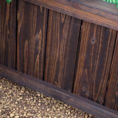 Dark Stained Cedar