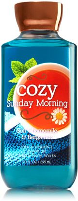 Cozy Sunday Morning Shower Gel - Signature Collection - Bath & Body Works