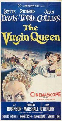 Century Fox ''The Virgin Queen'' Bette Davis Richard Todd Her Film Released: Richard Todd, Richard Anderson, Old Movie Posters, Film Posters, Marshall Movie, Herbert Marshall, Glenda Jackson, Harry Brown, Musica