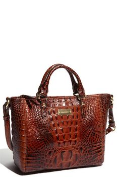 Brahmin 'Melbourne - Mini Arno' Satchel available at #Nordstrom. I love love love my new Brahmin handbag!!! It is so cute and it is really light, it does not weigh me down!!