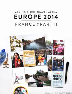 In a Creative Bubble: Europe 2014 Album // France: Part II