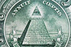 Señas de identidad Illuminati  - Según algunos expertos sobre el tema los Illuminati están en comunión con varios dioses egipcios que venera en reuniones extrañas, por eso es que su símbolo sea una pirámide con la parte superior iluminada con la conciencia del ojo ciego y que mira a una base hecha de ladrillos idénticos. La presencia e este símbolo en el billete de los Estados Unidos es para muchos la prueba innegable del dominio Illuminati en todo el mundo.