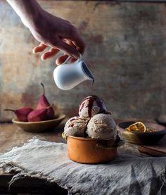 Marleen Visser - Altijd ijs - Amsterdam ShareLoveNotSecrets.com - food photography - food styling - ice cream cookbook - ijsjes - ice cream - kookboek - 4 seizoenen ijs - pear ice cream - stoofpeertje ijs