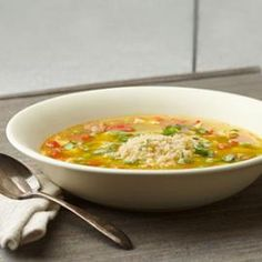 Eatingwell-Spring: Couscous paella soup