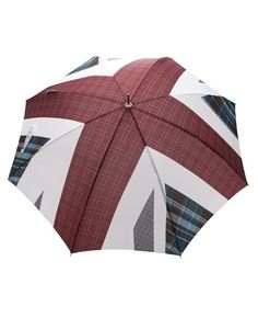 London Undercover Union Jack Umbrella - Any Old Iron - farfetch.com - StyleSays