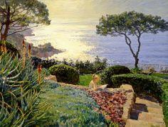 «Suny rapsodia»;  90x100;  óleo sobre lienzo;  2007.
