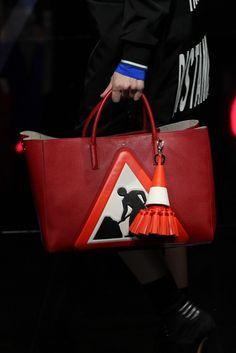 """Anya Hindmarch makes us say """"Caution, cute bag alert""""."""