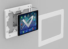 On-Wall iPad Android Galaxy Tab Tablet Enclosure