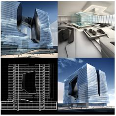 "Edificio ""OPUS""( Dubai) Zaha Hadid"
