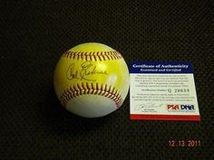 CARL ERSKINE,BROOKLYN DODGERS ,AUTOGRAPHED BASEBALL PSA/DNA !! . $39.99. THIS IS AN OFFICIAL NATIONAL  LEAGUE   BASEBALL,SIGNED,BY BROOKLYN DODGERS ,CARL ERSKINE,BALL IS SIGNED WITH A BALL POINT PEN. ON SWEET SPOT,SHELACK HAS BEEN ADDED TO THE BALL,PSA/DNA ,PLEASE CHECK SCAN,THANK YOU