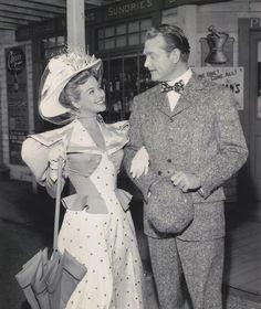 Monica Lewis & Red Skelton in Excuse My Dust 1951-Monica Lewis's
