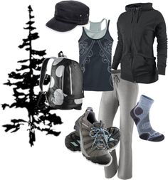 """I need some outfits like this for hiking -  """"day hike"""" by lynstemmerman"""