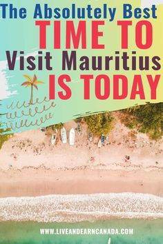 If you are thinking of traveling to Mauritius and you want the best possible time to visit, we have a list of the perfect time. Mauritius is a beautiful island near Africa. With plenty of amazing things to do in Mauritius, you will have a great time Best Vacations, Vacation Trips, Vacation Spots, Tropical Vacations, Top Travel Destinations, Best Places To Travel, Amazing Destinations, Travel Hacks, Travel Advice