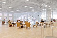 anttinen oiva architects develop helsinki university main library, finland