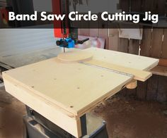 17 best band saw circle cutting jig images wood projects rh pinterest com