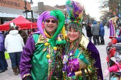 Volunteering at last year's Magic Hat Mardi Gras prepared Vermont Foodbank staffer Cathie Pelchat for this year's event, which benefits the Foodbank!