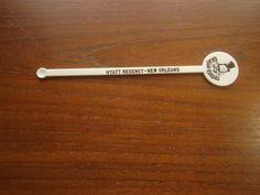 Georgie Porgie's New Orleans Hyatt Regency Swizzle Stick Drink Stirrer Bar/Rest