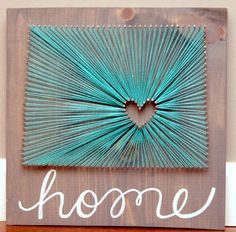 Items similar to Colorado Home Art Grey and Teal Turquoise Love of State Wedding or Anniversary Gift Nail and String Art Going Away Gift Birthday on Etsy Art Gris, String Art Diy, String Art Heart, Wedding String Art, String Crafts, Home Crafts, Arts And Crafts, Diy Crafts, Arte Linear