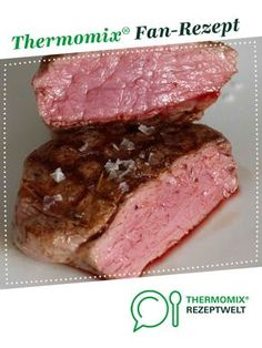 Das perfekte Filetsteak (Sous Vide) - - Das perfekte Filetsteak (Sous Vide) Thermomix The perfect fillet steak (sous vide) from UdoSchroeder. A Thermomix ® recipe from the main course with meat category www.de, the Thermomix ® community. Hamburger Meat Recipes, Pork Chop Recipes, Meatloaf Recipes, Fish Recipes, Grilling Recipes, Filet Steak, Rinder Steak, Steaks, Easy Cooking
