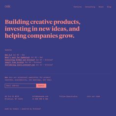 Fonts Used: Tiempos Headline and Input Mono · Typewolf Typography Inspiration