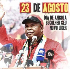 Agora é certo: dia 23 de Agosto a Angola irá escolher seu novo líder: João Lourenço para presidente! O povo sabe: João Lourenço a nos guiar, MPLA - Sede Nacional a nos governar! Junto ao povo, rumo a vitória! #EusouJoaoLourenco #MPLA #Angola #EleiçõesAngola2017 #Eleiçoes #Política #23deAgosto #AGuiarAvançodeAngola #AvançodeAngola #MPLAAngola