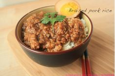 [中式料理] 史上最強悍之涂媽媽牌滷肉飯!!!   媽媽經
