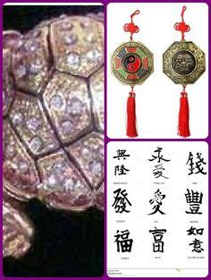 Feng Shui Symbols for Prosperity and Abundance Feng Shui Symbols, Protection Symbols, Abundance, Bling, Christmas Ornaments, Holiday Decor, Jewel, Christmas Jewelry, Christmas Decorations