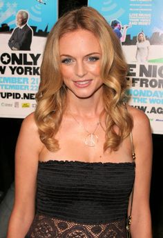 Heather Grahams long beautiful hairstyle