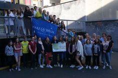 Met een lesmarathon steunde de llr Atheneum Centrum Make a Wish