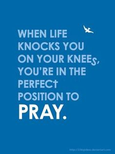 Always Pray!