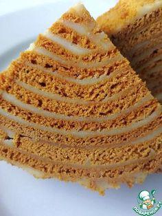 """Торт """"Карамельный медовик"""" - кулинарный рецепт"""